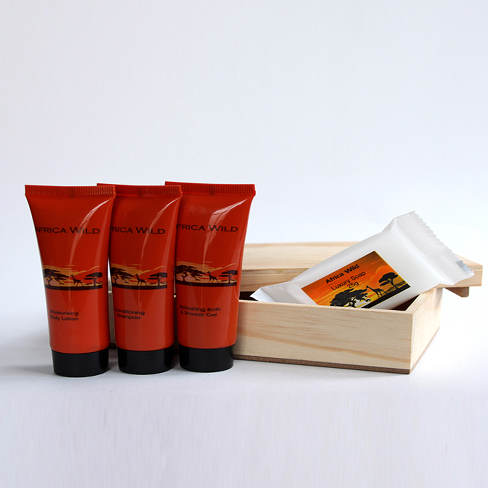 AFRICA WILD - Shampoo-Body Lotion-Shower Gel